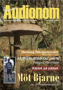 Framsida audionomtidningen